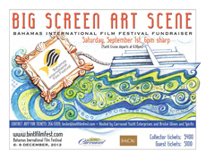 Change of Date: Big Screen Art Scene BIFF Fundraiser Aboard Carrousel Yacht, Saturday, October 20