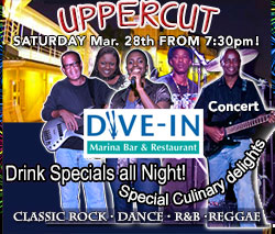 Uppercut Live Concert at the Marina Under The Stars @ The Dive IN at UNEXSO