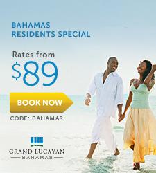 Grand Lucayan Bahamas Residents Special.