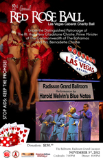 Red Rose Ball 2012: Las Vegas Cabaret Themed Charity Event