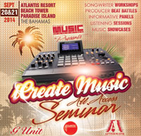 Bahamas: iCreate Music All Access Seminar to be held September 20th & 21st