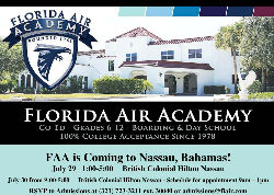 Florida Air Academy is coming to The Bahamas