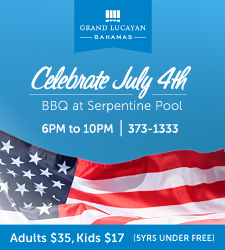 Grand Lucayan - July 4th BBQ at Serpentine Pool