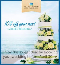 Grand Lucayan Wedding specials 2014