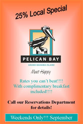Pelican Bay Hotel locals september special